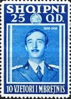 [The 10th Anniversary of the Reign of King Zog I, type BV1]