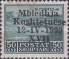 [National Congress - Stamps of 1930 Overprinted