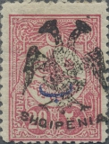 [Turkish Postage Stamps of 1908 and 1909-1911 Overprinted, type C17]