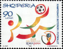 [Football World Cup - Japan and South Korea, Typ CED]