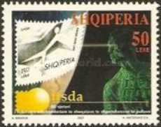 [The 50th Anniversary of the International Federation of Stamp Dealers Association (IFSDA), Typ CEM]