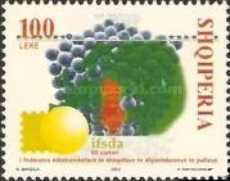 [The 50th Anniversary of the International Federation of Stamp Dealers Association (IFSDA), Typ CEN]