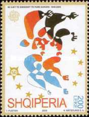 [The 50th Anniversary of EUROPA Stamps, Typ CKL]