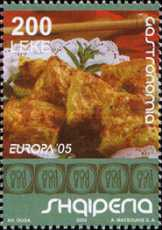 [EUROPA Stamps - Gastronomy, Typ CKP]