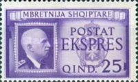 [Airmail - Express Stamps, Typ CX]