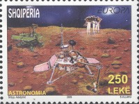 [EUROPA Stamps - Astronomy, Typ CXS]