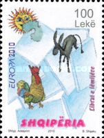 [EUROPA Stamps 2010 - Children's Books, Typ CYJ]