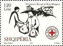 [The 90th Anniversary of the Albanian Red Cross, Typ CZZ]