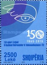[The 150th Anniversary of the ITU  - International Telecommunications Union, Typ DFL]