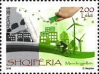 [EUROPA Stamp - Think Green, Typ DFR]