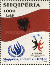 [Albanian Membership of the HRC - Human Rights Campaign, Typ DFZ]