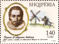 [The 400th Anniversary of the Death of Miguel de Cervantes, 1547-1616, Typ DGH]