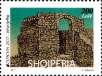 [EUROPA Stamps -  Palaces and Castles, Typ DGO]