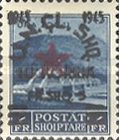 [2nd Anniversary of People's Army - Overprinted, type DH5]