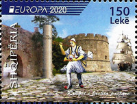 [EUROPA Stamps - Ancient Postal Routes, type DJC]
