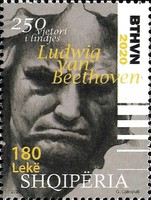 [The 250th Anniversary of the Birth of Ludwig van Beethoven, 1770-1827, type DJE]