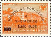 [Postage Stamps of 1945 Surcharged, Typ EP]