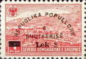 [Postage Stamps of 1945 Surcharged, Typ ER]