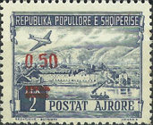 [Airmail - Stamps of 1950 Surcharged, type FY]