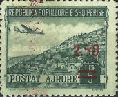 [Airmail - Stamps of 1950 Surcharged, type FZ]