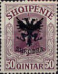 [Prince William of Wied Issue Overprinted Coat of Arms, type Q4]