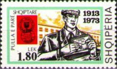 [The 60th Anniversary of Albanian Stamps, Typ XGZ]