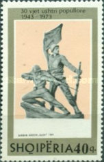 [The 30th Anniversary of the People's Army of Albania, Typ XHD]