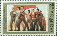 [The 30th Anniversary of the People's Army of Albania, Typ XHF]
