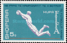[Football World Cup - West Germany, Typ XHW]