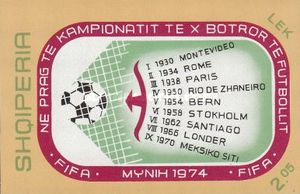 [Football World Cup - West Germany, Typ XIE]