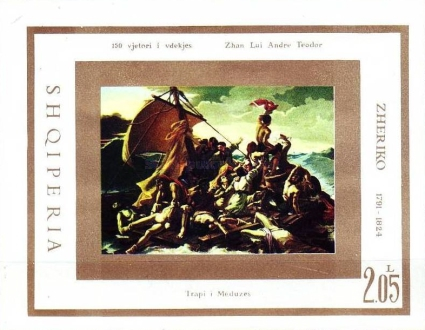 [The 150th Anniversary of the Death of Théodore Géricault, Typ XIX]