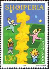 [EUROPA Stamp - Tower of 6 Stars, Typ XZH]