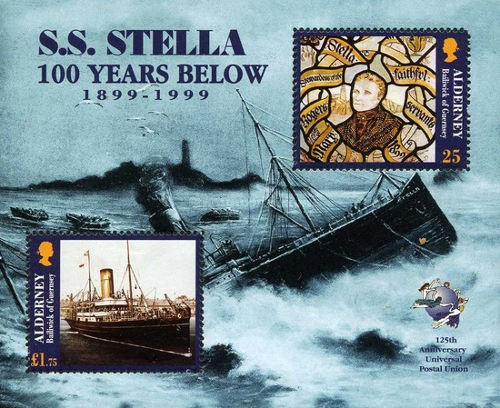 [The 100th Anniversary of the Loss of S.S. Stella, type ]