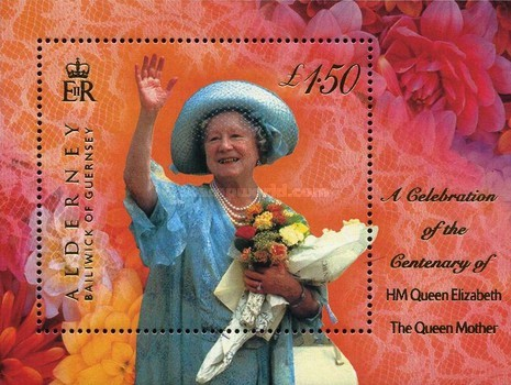 [The 100th Anniversary of the Birth of the Queen Mother, Typ ]