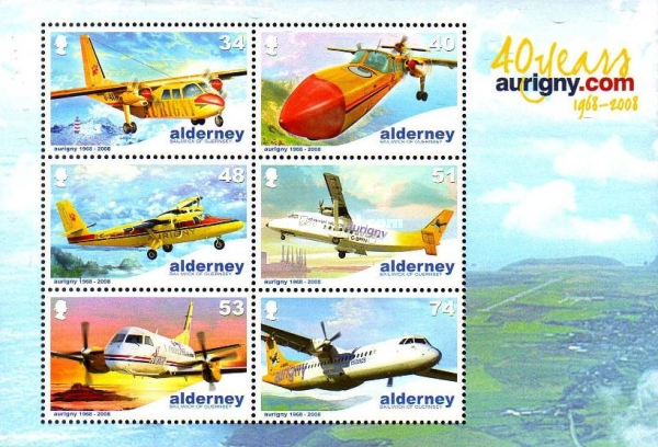 [The 40th Anniversary of Aurigny Air Service, type ]