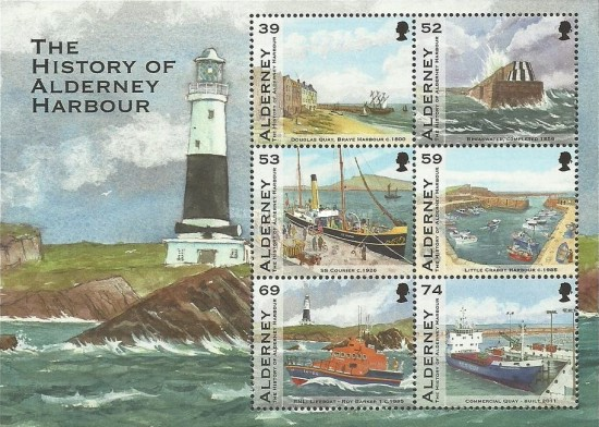 [The History of Alderney Harbour, type ]