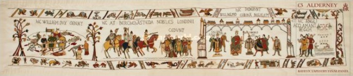 [Final Panel of the Bayeux Tapestry, type ]