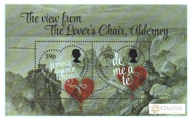 [Valentine's Day - International Stamp Exhibition STAMPEX - London, England, type ]