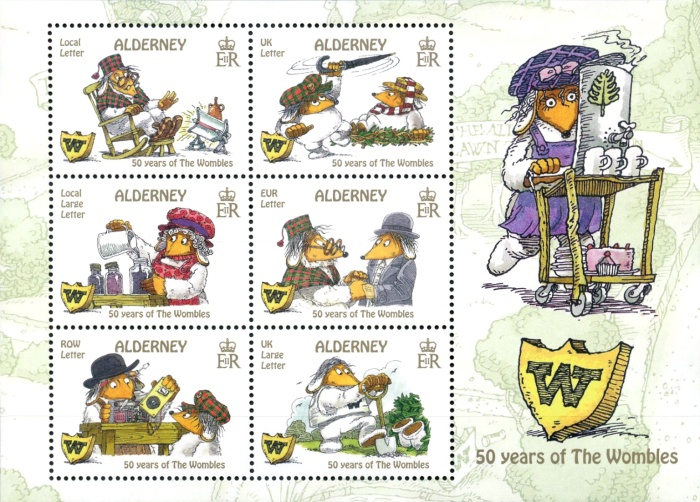 [Comics - The 50th Anniversary of the Wombles, type ]