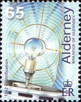 [the 50th Anniversary of the Electrification of Lighthouses, type GP]
