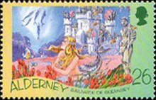 [The 200th Anniversary of the Birth of Hans Christian Andersen, 1805-1875, type IN]