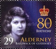 [The 80th Anniversary of the Birth of Queen Elizabeth II, type JL]