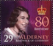 [The 80th Anniversary of the Birth of Queen Elizabeth II, type JM]