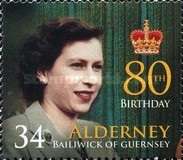 [The 80th Anniversary of the Birth of Queen Elizabeth II, type JN]