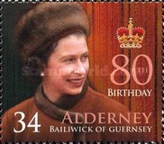 [The 80th Anniversary of the Birth of Queen Elizabeth II, type JO]