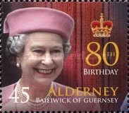[The 80th Anniversary of the Birth of Queen Elizabeth II, type JR]