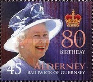 [The 80th Anniversary of the Birth of Queen Elizabeth II, type JS]