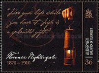 [The 100th Anniversary of the Death of Florence Nightingale, Typ NR]