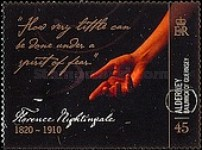 [The 100th Anniversary of the Death of Florence Nightingale, type NS]