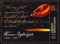 [The 100th Anniversary of the Death of Florence Nightingale, type NT]